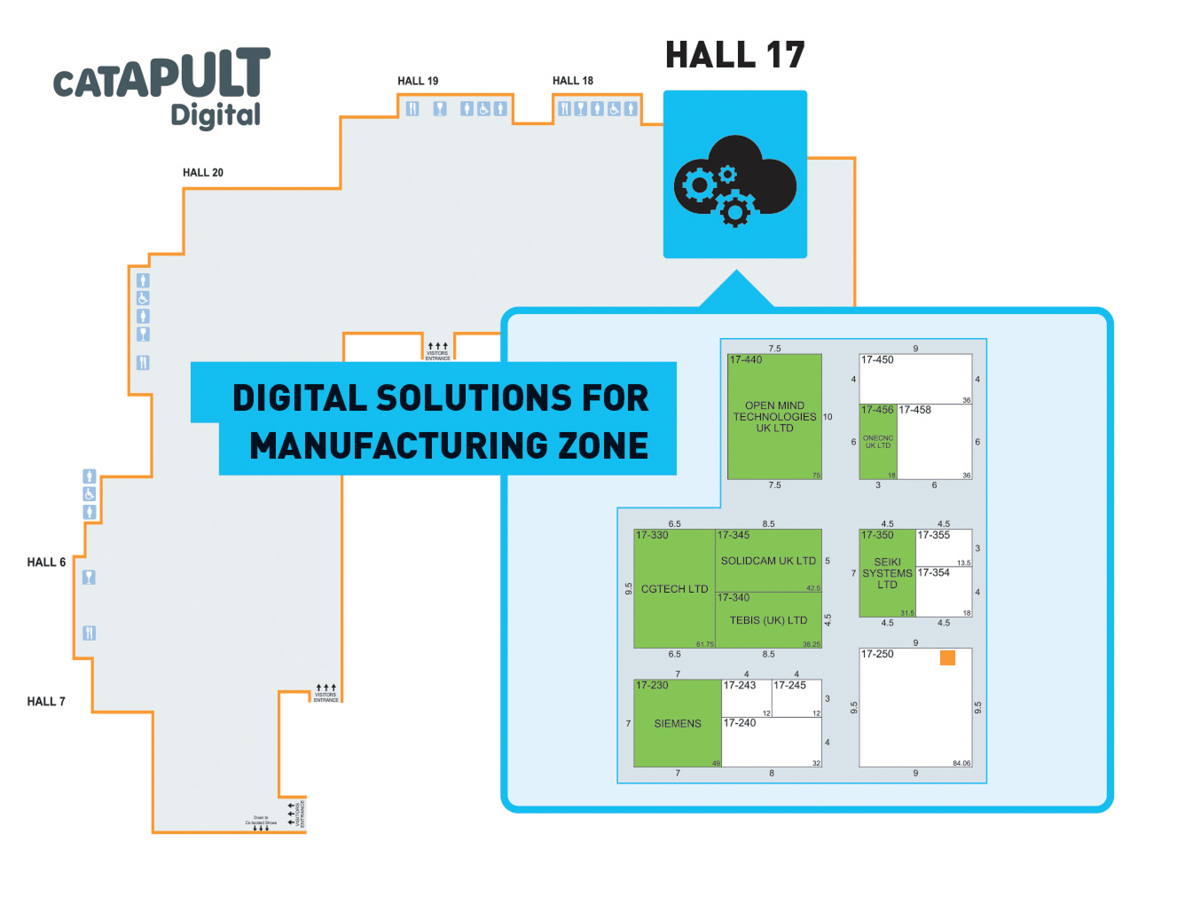 Hall 17 Digital Zone