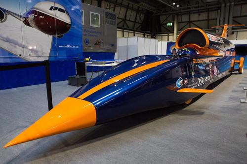 Bloodhound - the World's fastest car